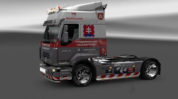 Powerhouse Transport Renault Premium Skin