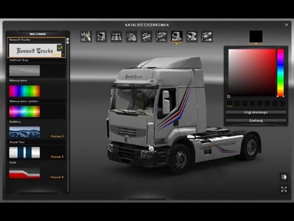 Renault Trucks skin