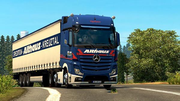 Roadstars Mercedes Benz New Actros Loud Pipe