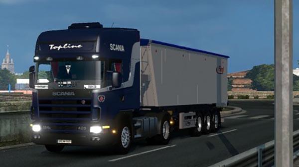 Scania 124l 420 Skin