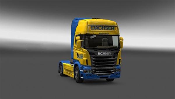 Scania Dachser Skin