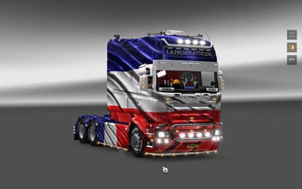 Scania Longline RJL skin France