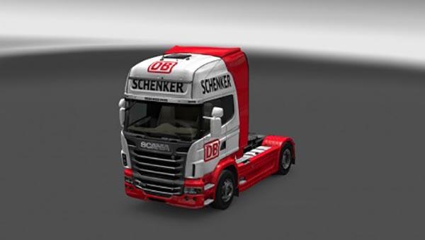 Scania R DB Schenker Skin