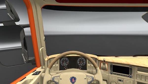 Scania R HRT Interior