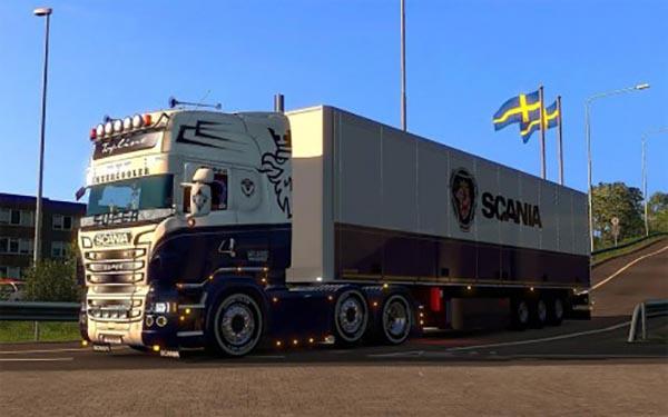Scania R and Streamline RJL Scania Blue Combo Pack