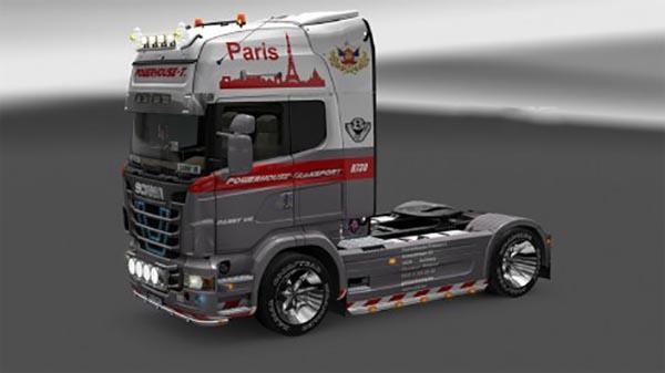 Scania R730 2009 Powerhouse skin