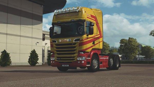 Scania RJL Bedworth Haulage Skin