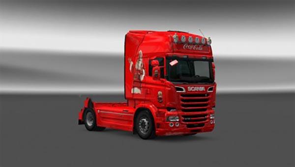 Scania RJL Coca Cola Skin