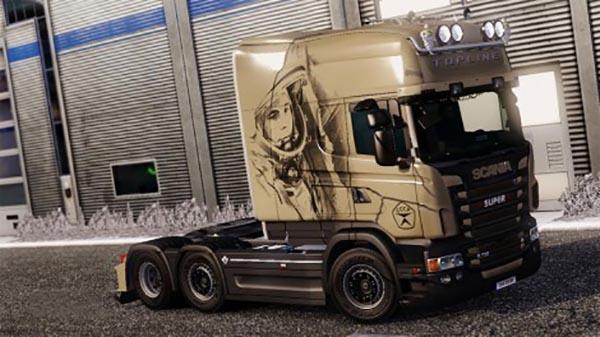 Scania RJL Gagarin Skin