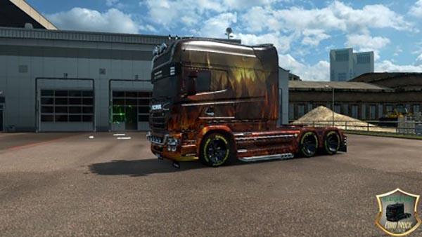 Scania RJL Longline Dragon Skin v 2.0