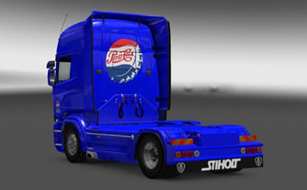 Scania RJL PEPSI Skin