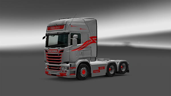 Scania RJL SUPER STAR Skin