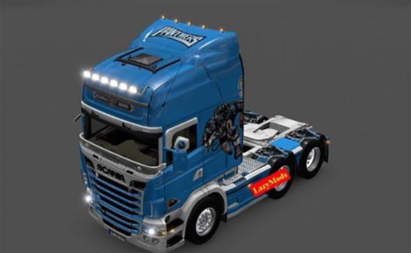 Scania RJL V8 Carolina Panthers NFL