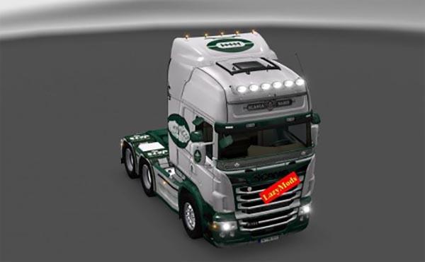 Scania RJL V8 New York Jets