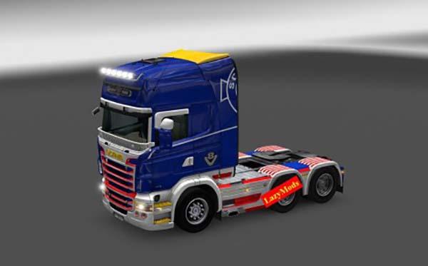 Scania RJL V8 Royal Skin