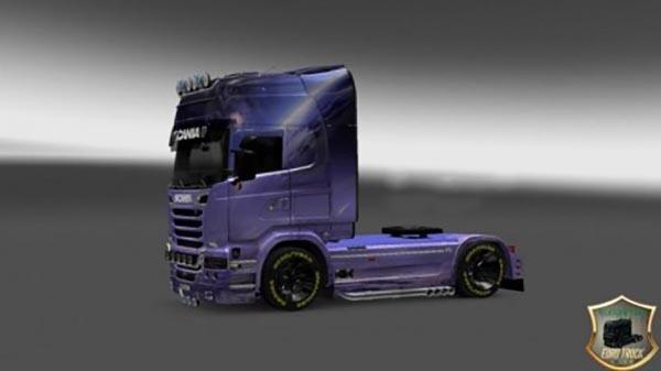 Scania Streamline Fantasy skin v2