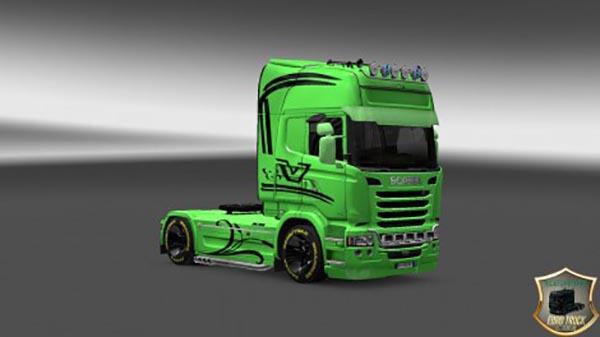 Scania Streamline Green Skin