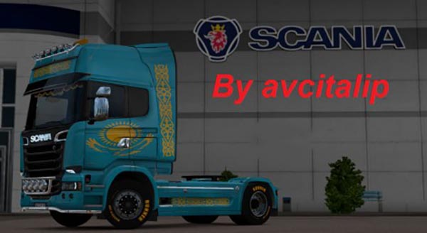 Scania Streamline Kazakhstan Skin