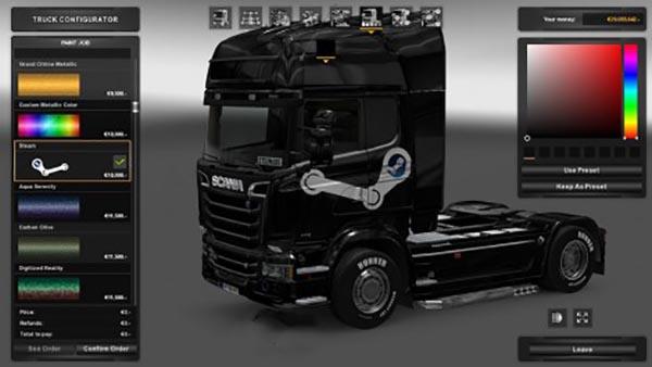 Scania Streamline Steam Skin