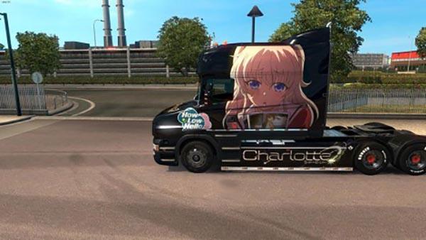 Scania T Charlotte Skin
