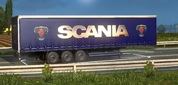 Scania Trailer Blue