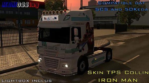 Skin Daf TPS Collin Iron Man