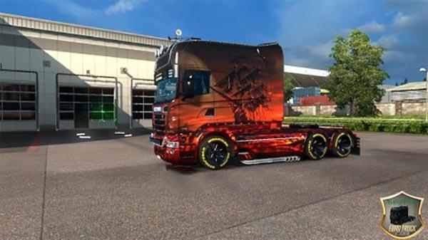 Skin Fantasia 1.0 for RJL Scania Longline