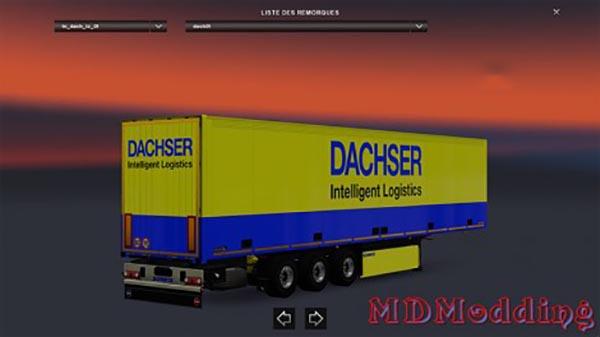 Skin Trailer DACHSER