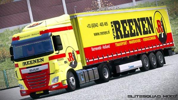 Van Reenen DAF XF Euro 6 Combo Pack