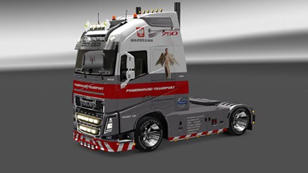 Volvo FH 2012 Powerhouse Skin