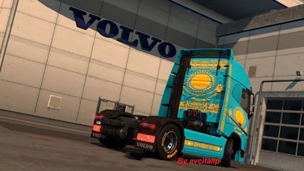 Volvo FH 2013 Kazakhstan Skin