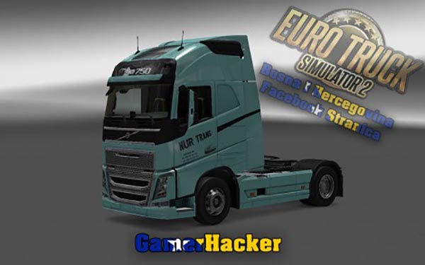 Volvo FH Nur Trans Green Skin