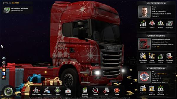 Xmas Scania Streamline Skin