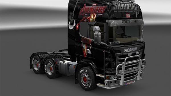 Avengers 2015 For Scania Trucks