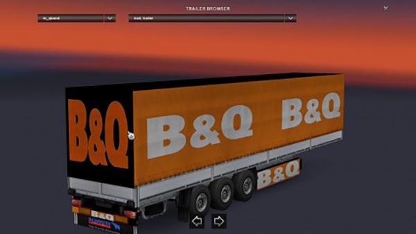 B & Q Trailer