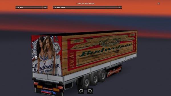 Budweiser Trailer