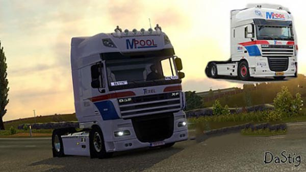 DAF XF M.Pool Schouwstra Transport Skin