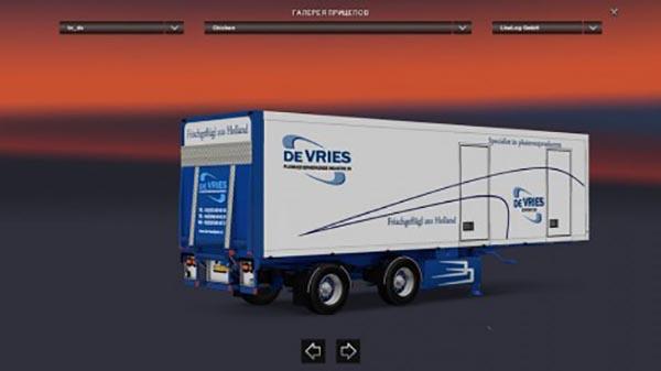 De Vries Trailer