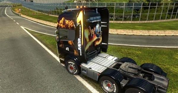 Fantastic Four 4 For Scania Trucks