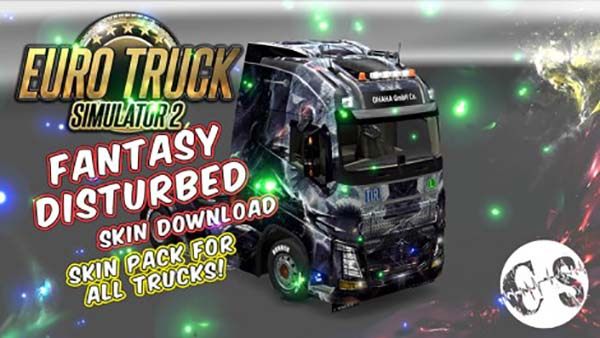 Fantasy Disturbed Skin Pack for All Trucks