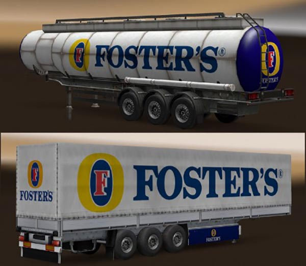 Fosters Magners Trailer Pack