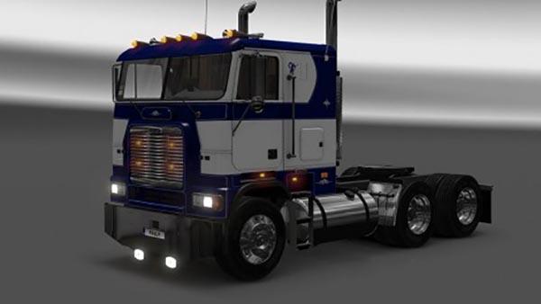 Freightliner FLB Custom Blue Skin