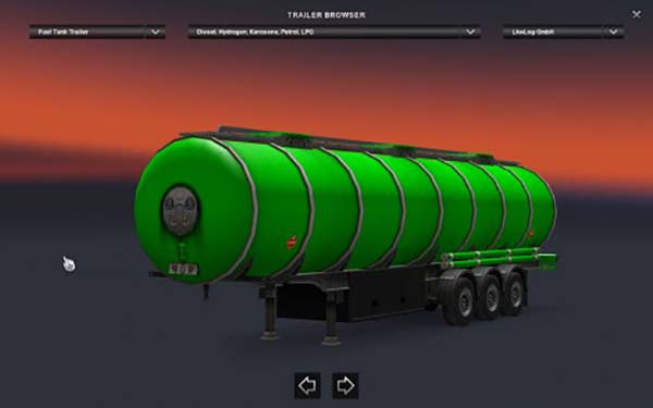 Green Fuel Tanker