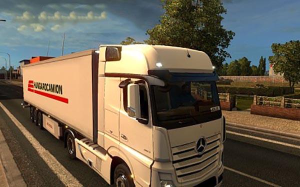 Hungarocamion trailer