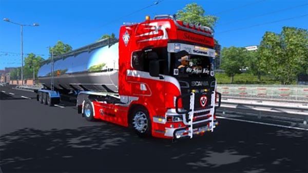 Inner chamber for Scania R