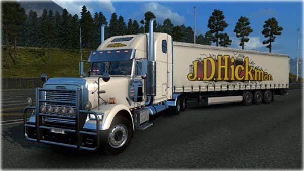 J.D. Hickman Freightliner Classic Skin Combo