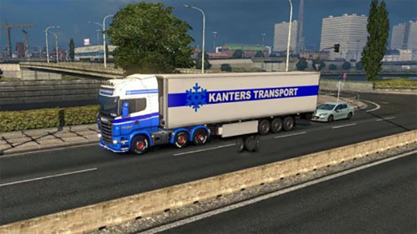 Kanters Transport Scania + Trailer