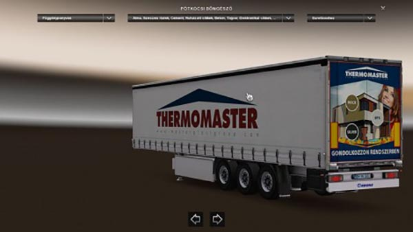 Krone Profiliner Thermomaster Skin