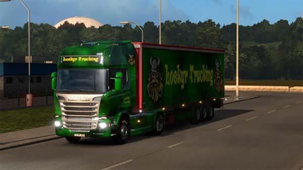 Loekyr Trucking Combo Skin
