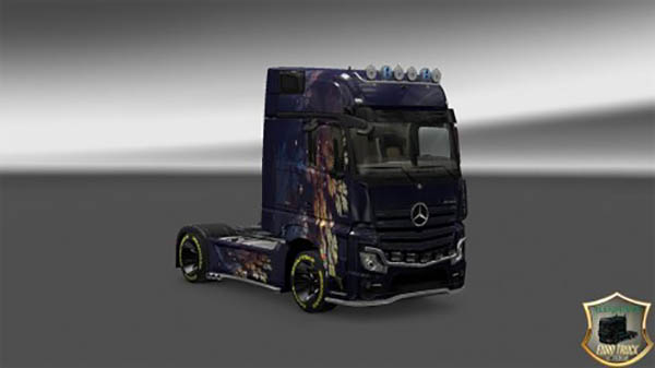 Mercedes Actros 2014 Vetv v2 Skin